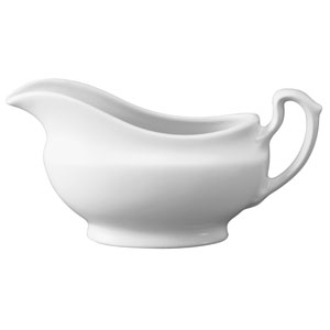 Churchill White Gravy Boat GB 13oz / 36.2cl