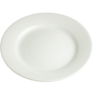 Churchill White Mediterranean Dish 10 Inch / 25.6cm WH MD10