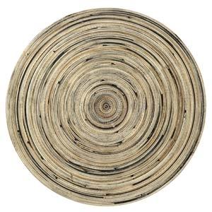 Inspire Round Spun Bamboo Placemats