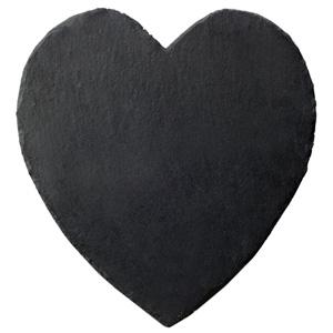 Inspire Slate Heart Coasters
