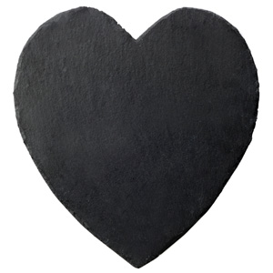 Inspire Slate Heart Placemats