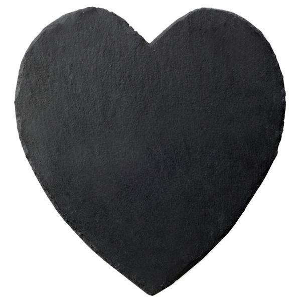 Inspire Slate Heart Placemats Drinkstuff