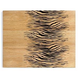 Inspire Zebra Printed Wood Veneer Placemats