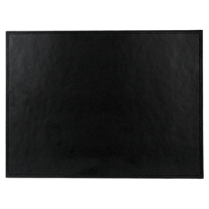 Inspire Black Stitch Leather Placemats