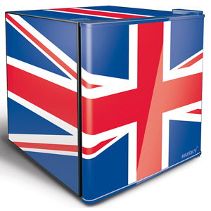 Husky Union Jack Refrigerator