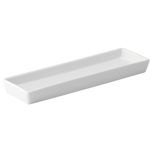 Utopia Anton Black Rectangular Tray 11.5 x 3.25inch / 28 x 8cm