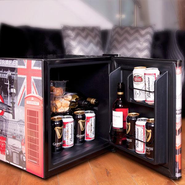 Husky London Refrigerator Mini Fridge Husky Fridge Beer