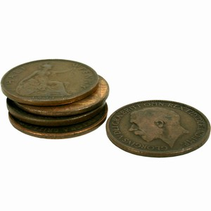 Spare Half Pennies for Shove HaPenny (Set of 5)