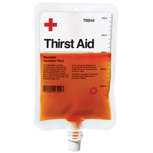 Thirst Aid Reusable Hydration Pack 19.4oz / 550ml