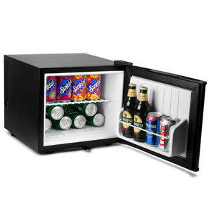 ChillQuiet Mini Fridge 17ltr Black