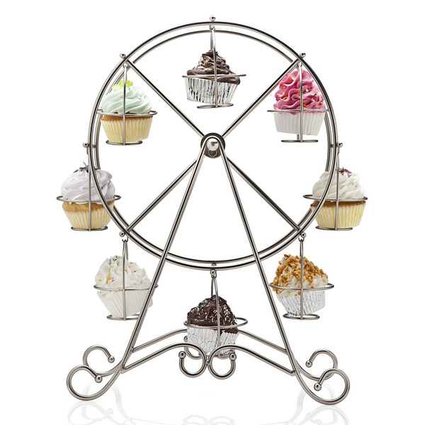 Trade Cake Stands : Ferris wheel cupcake holder drinkstuff