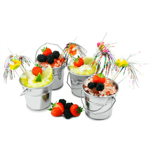 Mini Cocktail Ice Bucket Set