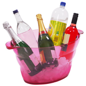Party All Purpose Drinks Cooler Pink