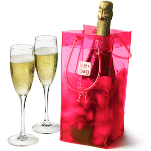 Ice Bag Pink Pack Of 6