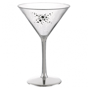 Enchanted Evening Plastic Martini Glass 8.1oz / 230ml