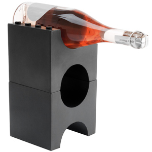 Brick Wine Rack Charcoal Grey