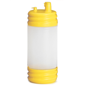SaferFood Solutions PourMaster with Low Profile Top Yellow