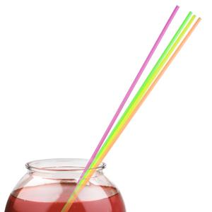 Giant Straws Neon 20inch
