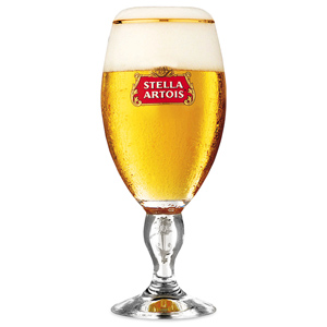Stella Artois International Chalice Half Pint Glasses CE 10oz / 280ml
