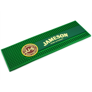 Jameson Whiskey Rubber Bar Mat