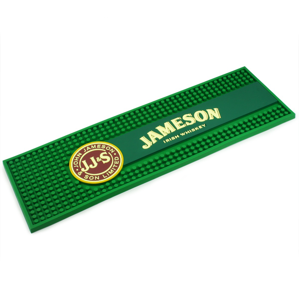 Jameson Whiskey Rubber Bar Mat Drinkstuff