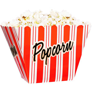 Lights! Camera! Action! Reusable Popcorn Bowl