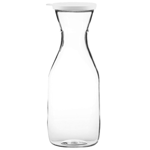 Polycarbonate Carafe with Clip Lid (35.2oz / 1ltr)