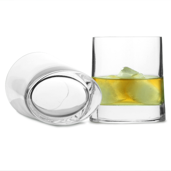 Veronese Oval Base Whisky Tumblers 9 2oz 260ml