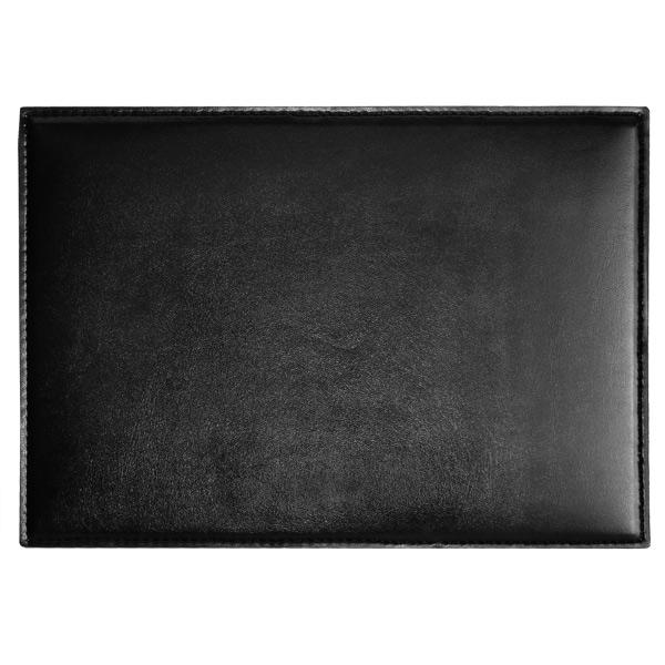 Douglas Placemat Black 215cm x 305cm Faux Leather  : 66068large from www.drinkstuff.com size 600 x 600 jpeg 79kB