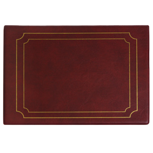 Snaefell Placemat Burgundy 26.5cm x 20.5cm