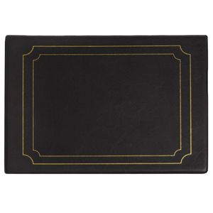 Snaefell Placemat Black 26.5cm x 20.5cm