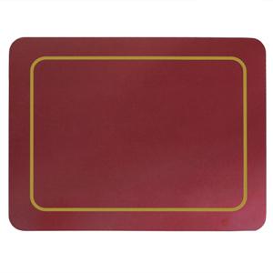 Carrick Melamine Placemat Burgundy 19cm x 24cm
