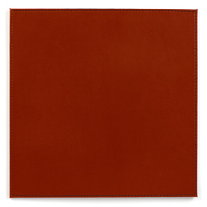 Inspire Reversible Black/Red Faux Leather Placemats