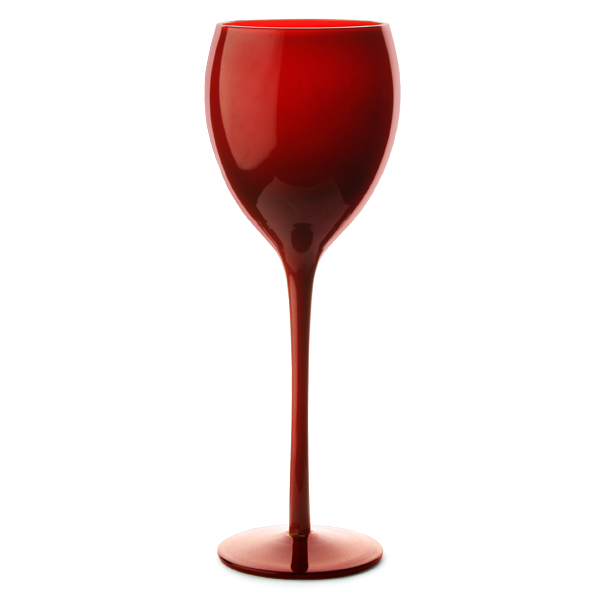 Midnight wine goblets red 13oz 375ml drinkstuff for Large red wine glass