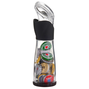 Trudeau Bottle Opener & Cap Catcher
