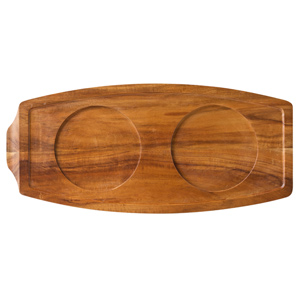 Utopia Acacia Wood Presentation Board 13.5 x 6.25inch / 34 x 15.5cm