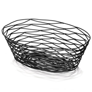Artisan Oval Basket Black 9inch