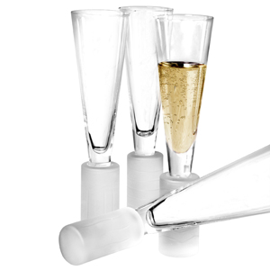 New Age Champagne Flutes 6oz / 170ml