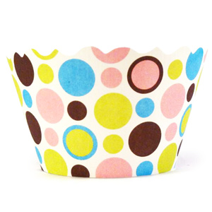 Swift Dorothy Cupcake Wrappers Polka Dot