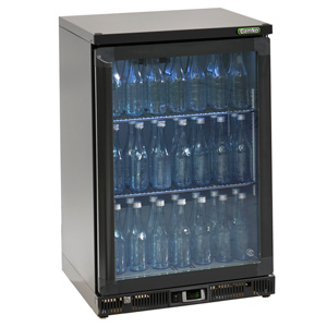 Gamko Maxiglass Noverta MG-150G Glass Hinged Door Bottle Cooler