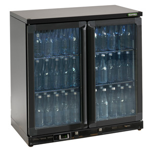 Gamko Maxiglass Noverta MG-250G Glass Hinged Door Bottle Cooler