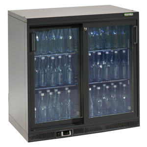 Gamko Maxiglass Noverta MG-250SD Glass Sliding Door Bottle Cooler