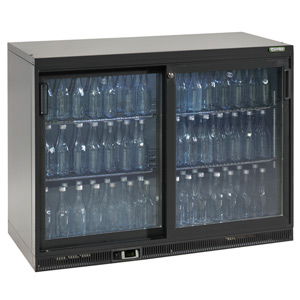 Gamko Maxiglass Noverta MG-275SD Glass Sliding Door Bottle Cooler
