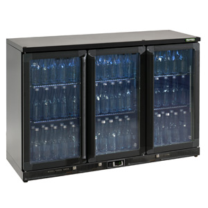 Gamko Maxiglass Noverta MG-315G Glass Hinged Door Bottle Cooler