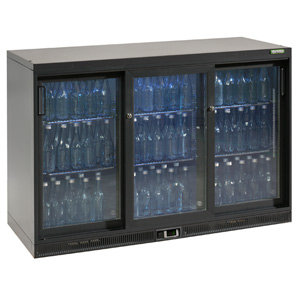 Gamko Maxiglass Noverta MG-315SD Glass Sliding Door Bottle Cooler