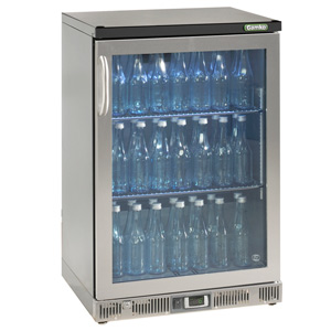 Gamko Maxiglass Noverta MG-150GCS Glass Hinged Door Bottle Cooler