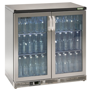 Gamko Maxiglass Noverta MG-250GCS Glass Hinged Door Bottle Cooler
