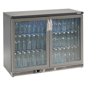 Gamko Maxiglass Noverta MG-275GCS Glass Hinged Door Bottle Cooler