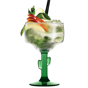 Cactus Margarita Glasses 16.5oz / 470ml