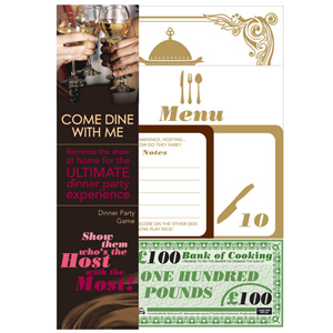 Come Dine With Me Dinner Party Game